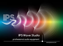 Abstract sound waves background. Colored wave form poster vector illustration Royalty Free Stock Images