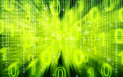 Abstract Source code green technical background Royalty Free Stock Photo