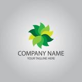 Abstract spa health beauty logo Stock Photography