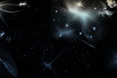 Abstract space Royalty Free Stock Photos