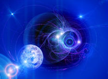 Abstract space background Royalty Free Stock Photography