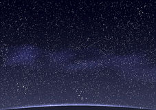 Abstract Space background Stock Images