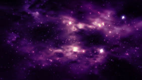 Abstract Space background for design. Photorealistic Galaxy background for Your design.  illustration Royalty Free Stock Photo