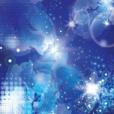 Abstract space background Royalty Free Stock Photos