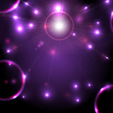 Abstract space background flickering Stock Photography