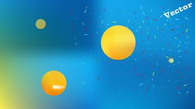 Professional abstract space background picture graphic. royalty free illustration
