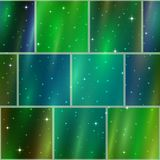 Abstract space background, seamless Royalty Free Stock Images