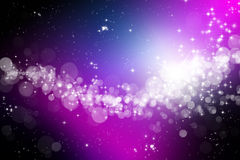 Abstract space background. An abstract space and stars background Stock Photography