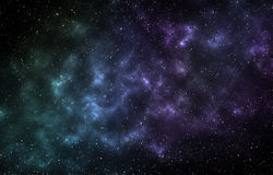 Abstract space background with stars, an infinite universe. Fant Stock Photos