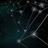 Abstract space background Royalty Free Stock Image