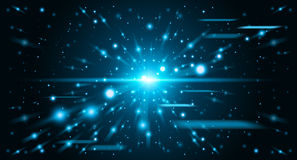 Abstract space background Stock Photography