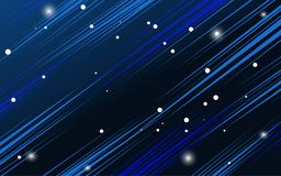 Abstract space concept background. Vector illustration Royalty Free Stock Image