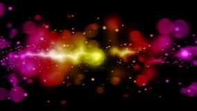 Abstract space explosion. Abstract motion of space explosion for background footage vector illustration