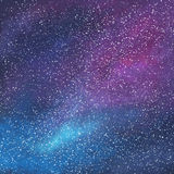Abstract space galaxy background. With stars and nebula, illustration painting Royalty Free Stock Photo