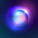 Abstract space illustration Royalty Free Stock Image