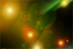 Abstract space multicolored background Stock Photography