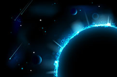 Abstract space scene Royalty Free Stock Photo