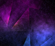 Abstract Space Violet Background. Texture Royalty Free Stock Images