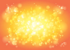Abstract sparkle lights and stars background Stock Photos