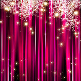 Abstract sparkle pink background Stock Photography