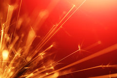 Abstract sparkler Royalty Free Stock Image