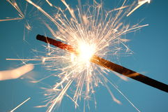 Abstract sparkler background Royalty Free Stock Images