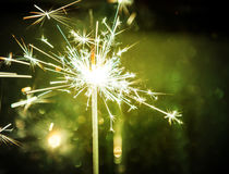 Abstract sparkler bokeh background Royalty Free Stock Photography