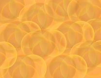 Abstract Sparkling Bokeh on Orange Holiday Background. Vector Illustration Stock Image
