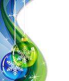 Abstract sparkling Christmas  background Stock Photos