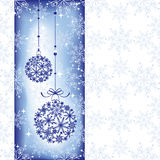 Abstract sparkling Christmas seamless pattern Stock Image