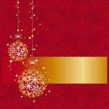 Abstract sparkling Christmas seamless pattern Royalty Free Stock Photography