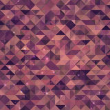 Abstract sparkling geometric background Royalty Free Stock Image