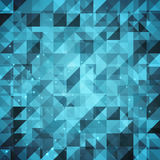 Abstract sparkling geometric background Stock Image