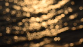 Abstract sparkling light bokeh movement stock footage