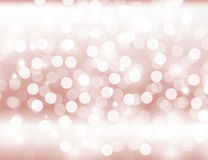 Abstract Sparkling Pink Holiday Background bokeh effect. Royalty Free Stock Photography