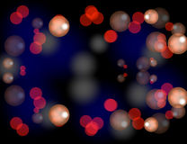 Abstract Sparkling Stars Holiday Background bokeh effect. Vector Illustration Royalty Free Stock Images