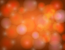 Abstract Sparkling Stars on Red Holiday Background. Stock Images