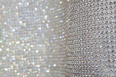 Abstract sparkly grey background Stock Photos