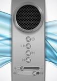 Abstract Speaker Concept Design. Vector Illustration. Eps 10 Stock Photos