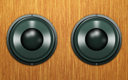Abstract speakers Stock Photography