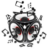 Abstract Speakers Stock Image