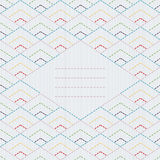 Abstract specked lines pattern. Diagonal dotted stripes. Seamles Stock Images