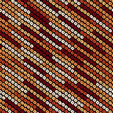 Abstract speckled lines pattern. Diagonal bead stripes. Seamless pattern. Stock Photo