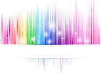 Abstract spectrum. Vector of abstract spectrum background royalty free illustration