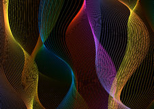Abstract spectrum background Stock Images