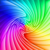 Abstract spectrum background. Of curved overlapping layers Stock Photo