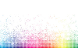 Abstract spectrum colorful bottom mosaic Royalty Free Stock Photography