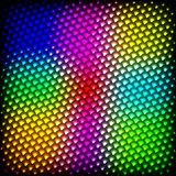 Abstract spectrum dark background with colored sparkles. Royalty Free Stock Images