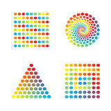 Abstract spectrum design Stock Photography