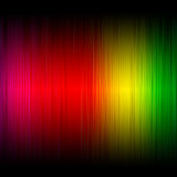 Abstract spectrum glowing Royalty Free Stock Photo